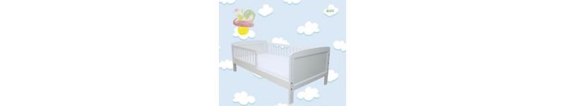 Koks gultiņa balta