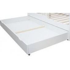 Balta gultiņas atvilktne 140x70 cm