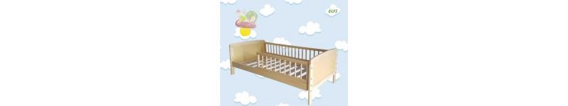 Bērnu koka gultiņa